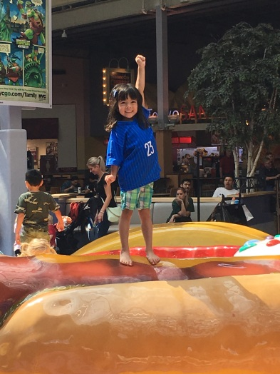 Conquered the hot dog!